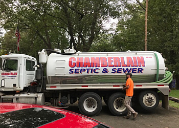 Rochester septic tank service Chamberlain Septic & Sewer