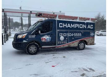 San Antonio hvac service Champion AC