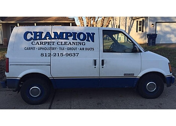 Evansville carpet cleaner Champion Carpet Cleaning