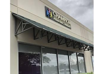 San Antonio occupational therapist Champion Pediatric Therapy