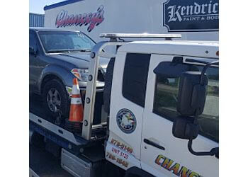 Augusta towing company Chancey's Wrecker Services