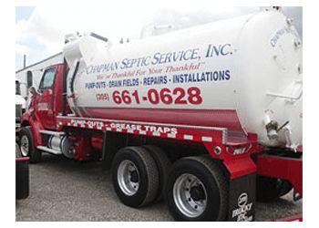 Miami septic tank service Chapman Septic Service, Inc.