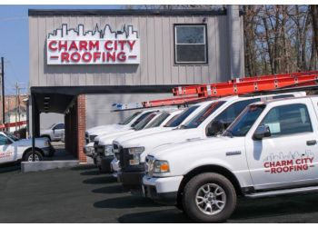 Baltimore roofing contractor Charm City Roofing