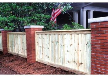 Columbus fencing contractor Chattahoochee Fence Company