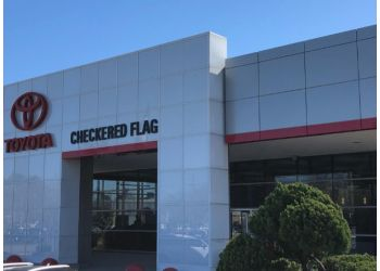 Virginia Beach car dealership Checkered Flag Toyota