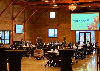 Sioux Falls caterer Chef Dominique's Catering and Banquet Facility
