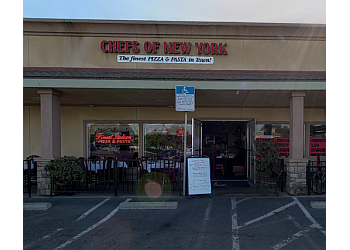 Modesto pizza place Chefs of New York