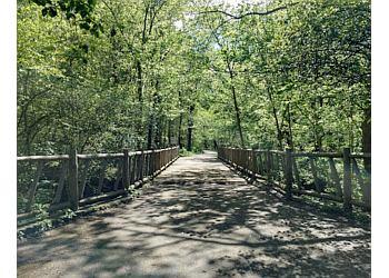 Louisville hiking trail Cherokee Park Trail