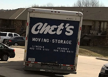Lincoln moving company Chet's Moving & Storage
