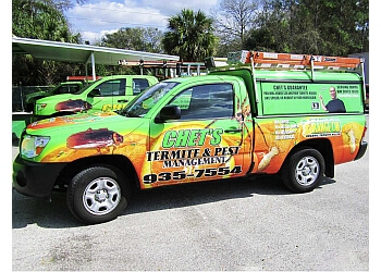 Tampa pest control company Chet's Termite & Pest Management, Inc.