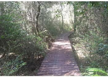 Mobile hiking trail Chickasabogue Park