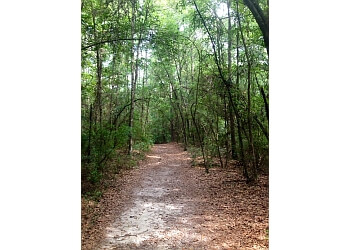 Mobile hiking trail Chickasabogue Park Trail