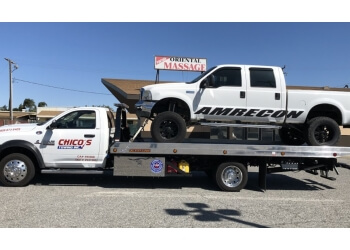 Rancho Cucamonga towing company Chico's Towing, Inc.