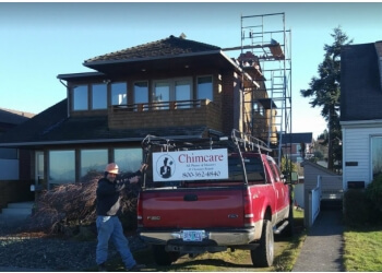 Seattle chimney sweep Chimcare