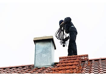 Kansas City chimney sweep Chimney Tech