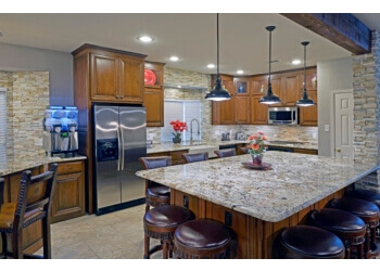 Arlington custom cabinet Chip's Kitchens & Baths