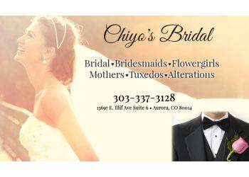 Aurora bridal shop Chiyo's Bridal