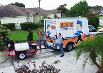 Orlando plumber Choice Plumbing
