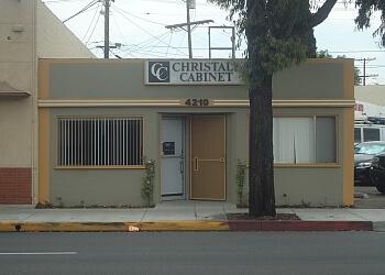 Glendale Custom Cabinet Christall Cabinet