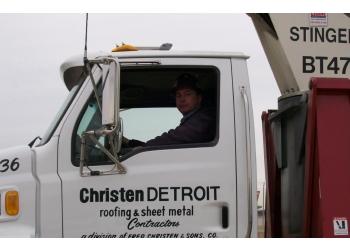 Detroit roofing contractor Christen Detroit