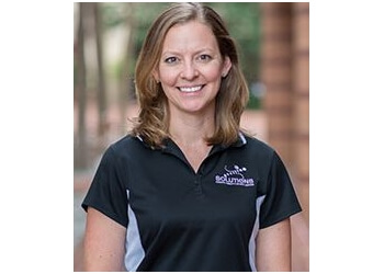 Alexandria physical therapist Christina Smith, PT, DPT, ATC, SCS, CSCS