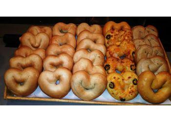 Orange bagel shop City Bagel