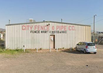 El Paso fencing contractor City Fence & Pipe Co.