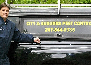 Philadelphia pest control company City & Suburbs Pest Control