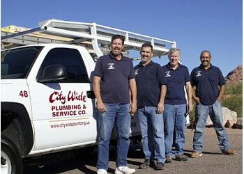 Tempe plumber City Wide Plumbing & Service Co.