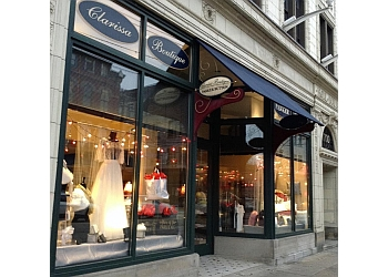 Pittsburgh bridal shop Clarissa Boutique