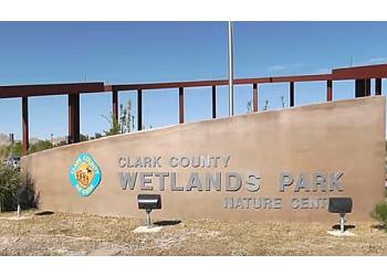 Las Vegas hiking trail Clark County Wetlands Park Trail