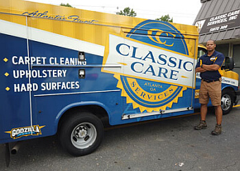 Atlanta carpet cleaner Classic Care Services Inc.