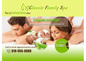 Glendale massage therapy Classic Family Spa