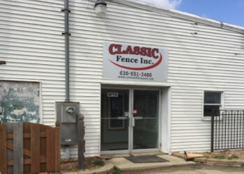 Aurora fencing contractor Classic Fence Inc