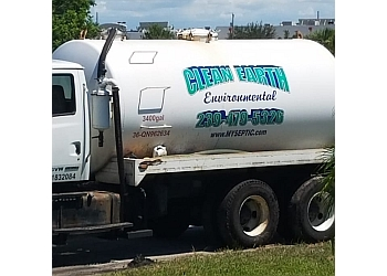 Cape Coral septic tank service Clean Earth Environmental llc