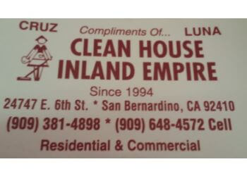 San Bernardino house cleaning service Clean House Inland Empire