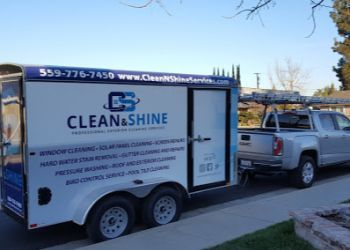 Fresno window cleaner Clean & Shine Services