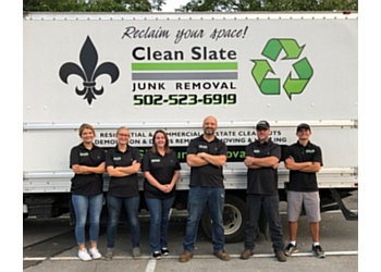 Louisville junk removal Clean Slate Junk Removal & Moving
