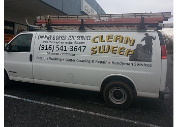 Sacramento chimney sweep Clean Sweep Chimney & Dryer Vent Service