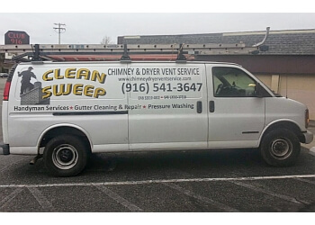 Sacramento chimney sweep Clean Sweep Chimney & Dryer Vent Service