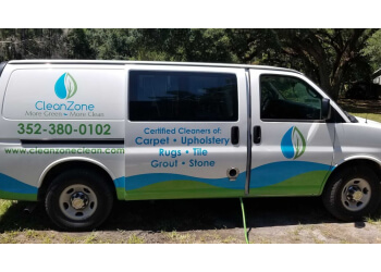 Gainesville carpet cleaner Clean Zone