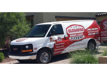 Phoenix window cleaner ClearPro Window & Carpet Cleaning