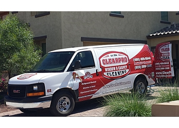 Scottsdale window cleaner ClearPro Window & Carpet Cleaning