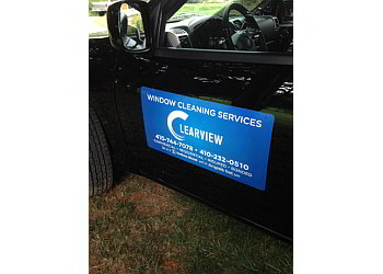 Baltimore window cleaner ClearView Window Cleaning Services