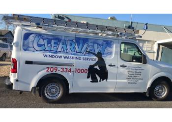 Stockton window cleaner Cleaview Window Washing Service