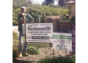 Rancho Cucamonga landscaping company Clements Landscape and Pool Construction