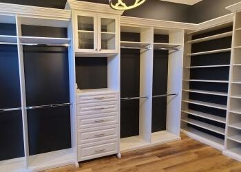 Aurora custom cabinet Closets By Design