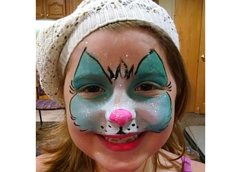Lincoln face painting Clowning Around