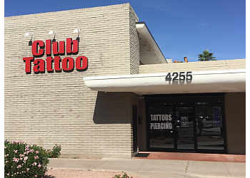 Scottsdale tattoo shop Club Tattoo