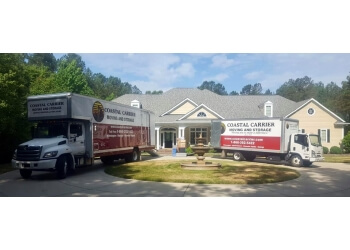 Wilmington moving company Coastal Carrier Moving & Storage